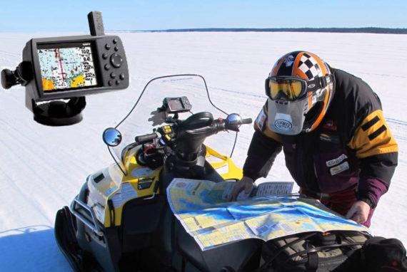 mao compass GPS snowmobile quebec