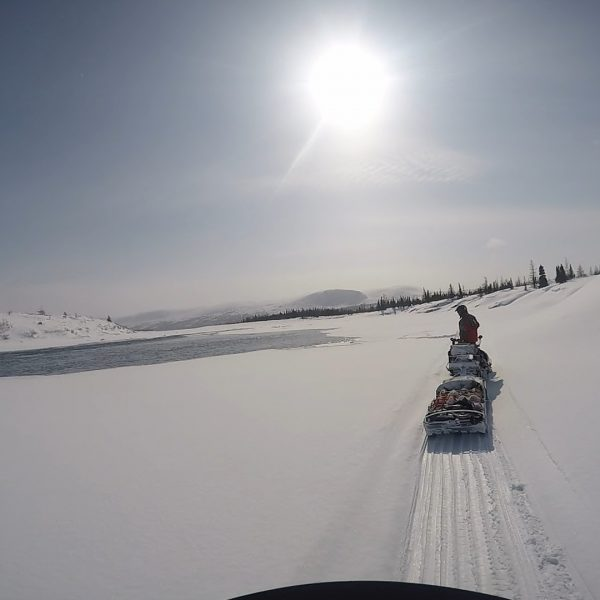 Expédition motoneige dans le Grand Nord