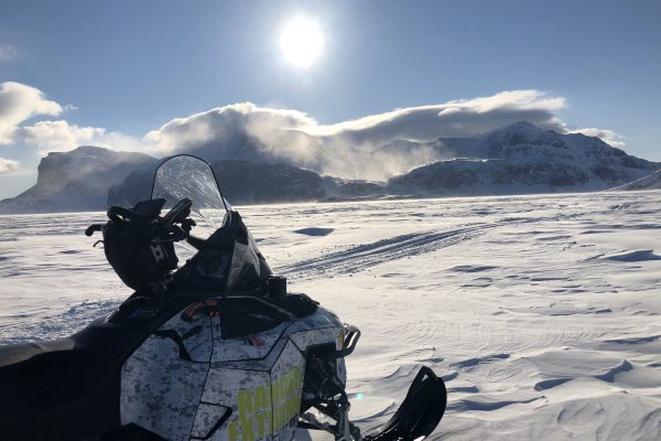 Guided Snowmobile Expedition in Northern Canada