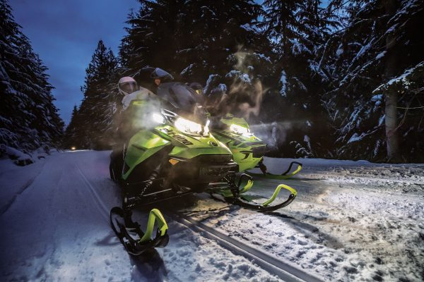 Snowmobile 5 days Backcountry excursion