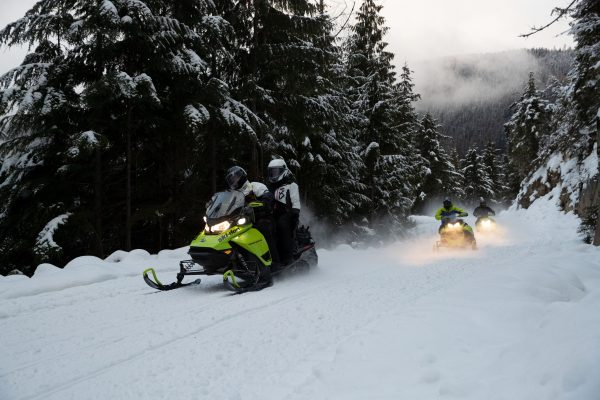 Initiation courte à la motoneige à Québec