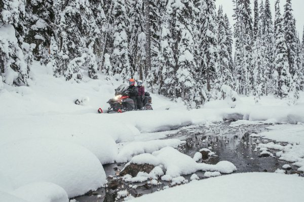 Half a day guided snowmobile tour in Charlevoix La Malbaie